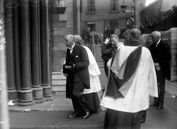 Douglas Hyde after Installation as president