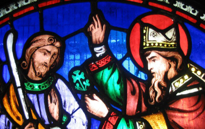 Saint Patrick window at Saint Patricks Cathedral