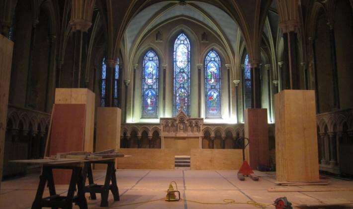 lady Chapel restoration