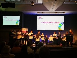 Iveagh Trust Choir at the Spark Changes Award